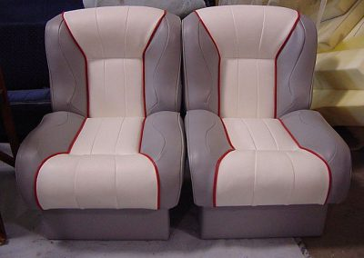 Visions Upholstery The Best on the Island Bitchin Stitchinn Boat Seats Hand Crafted, Custom Designed Interiors